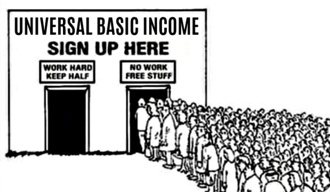 A Universal Basic Income Would Engorge the Paternal State