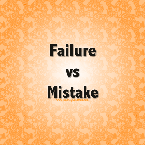 failure vs mistake