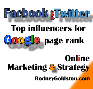 Facebook and Twitter Were The Most Important Keys To Ranking High On Google In The US For 2012
