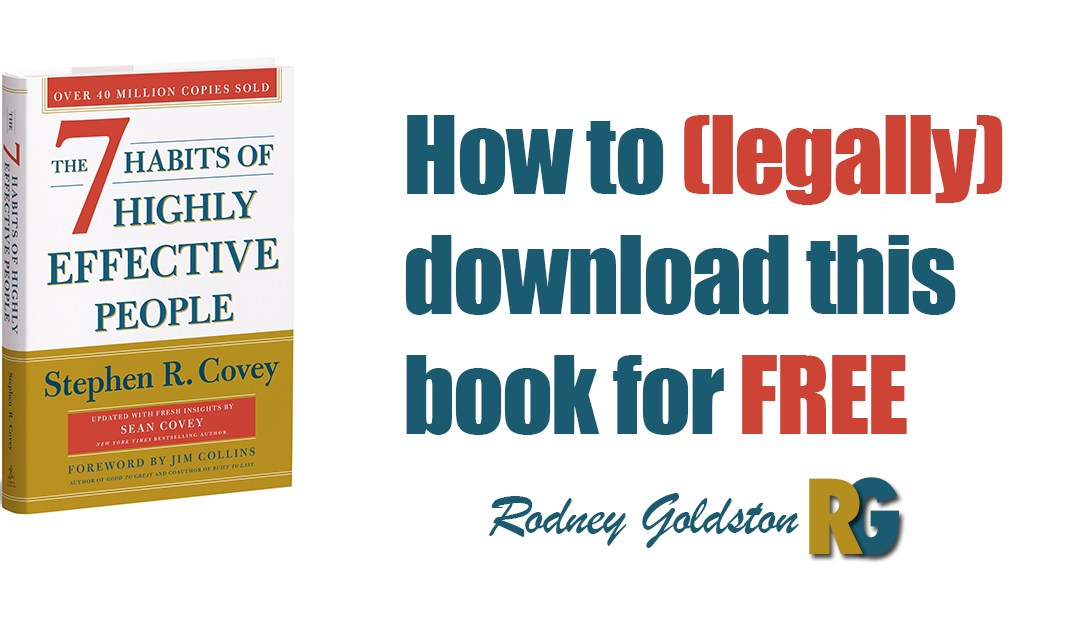 How To (Legally) Download 7 Habits of Highly Successful People For Free
