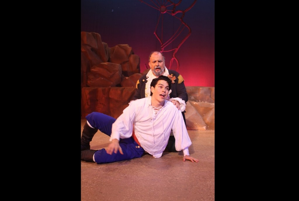Rodney Ingram in Little Mermaid, White Plains Performing Arts Center