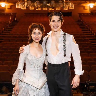 Ali Ewoldt and Rodney Ingram in The Phantom of the Opera