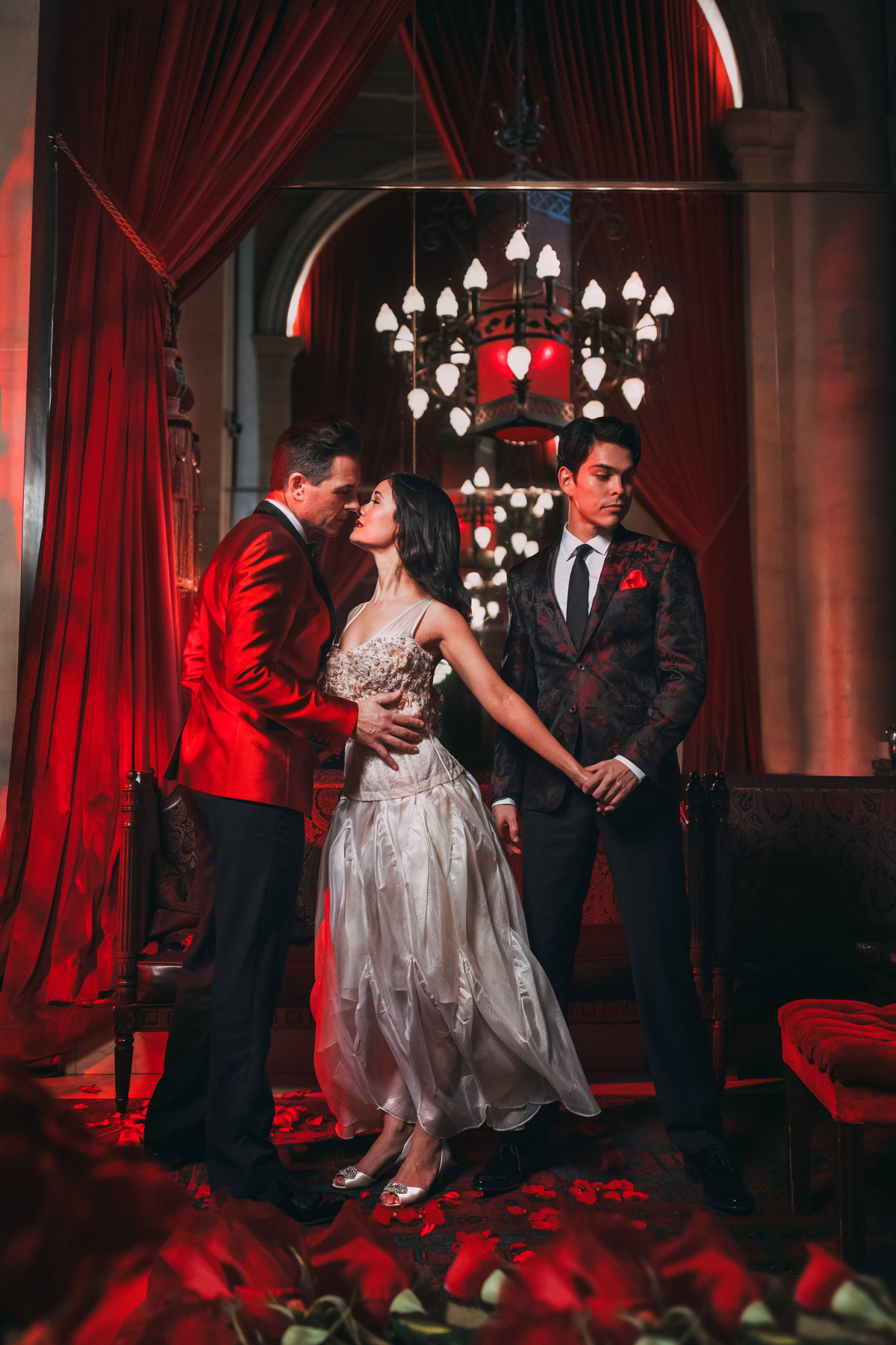 Rodney Ingram, Ali Ewoldt and Peter Joback for Phantom of the Opera's 30th Anniversary photo by: Caitlin McNaney