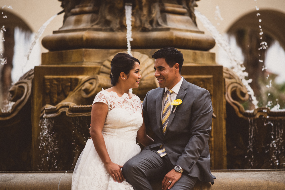 030- Cynthia and David - Beverly HIll Courthouse Wedding