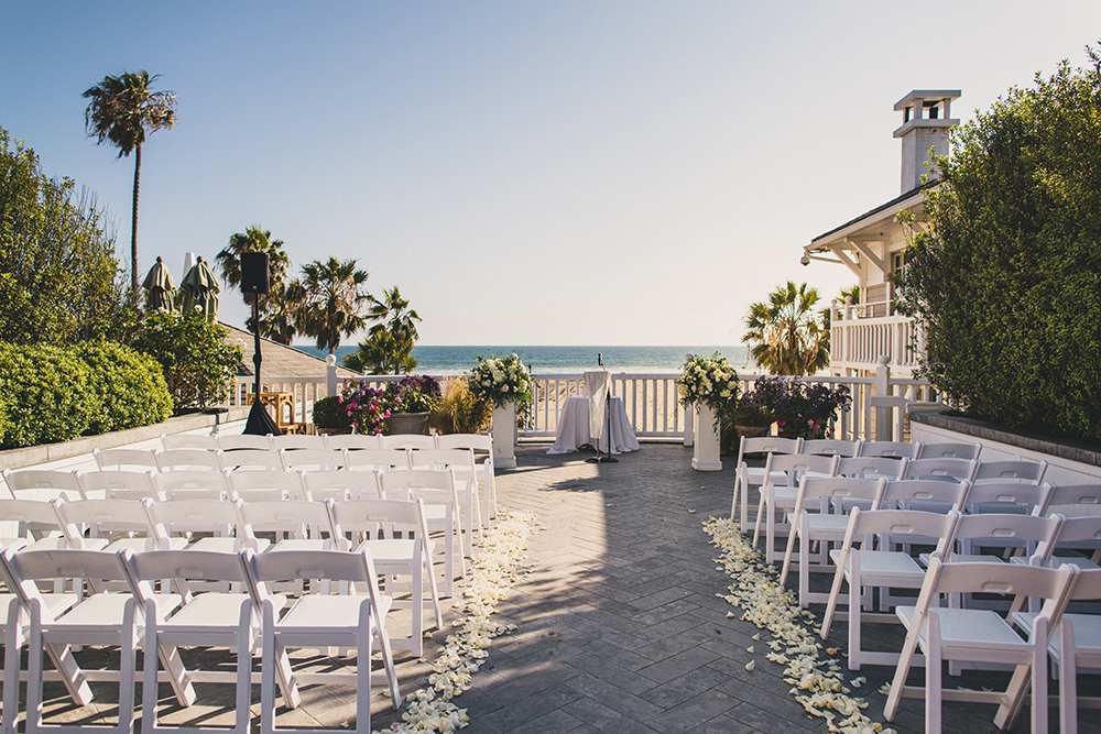 Shutters on the Beach Ceremony