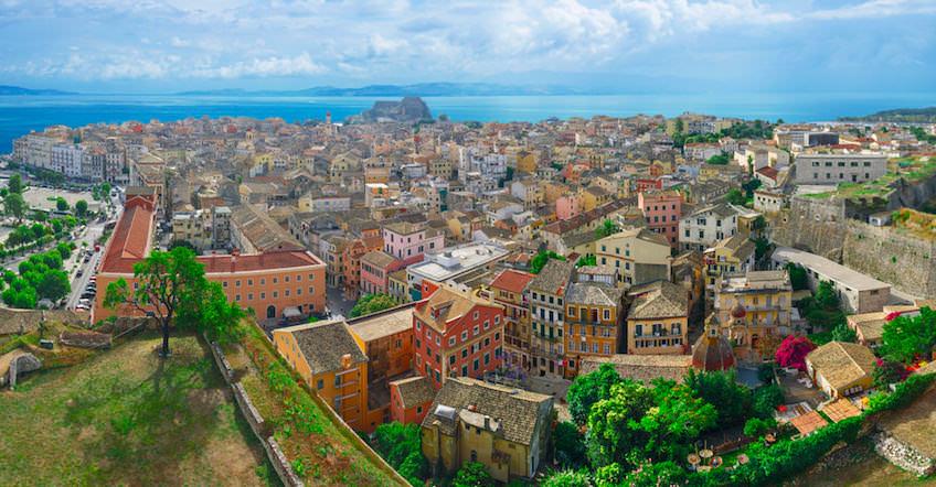 Corfu Town - Panoramic View