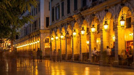 Corfu Town - Liston
