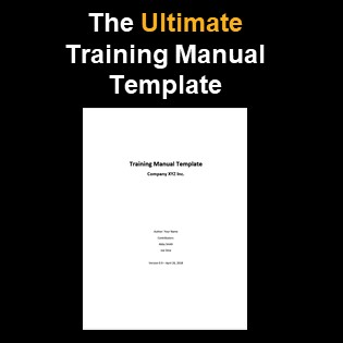 The Simplest Training Manual Template You Will Ever Find