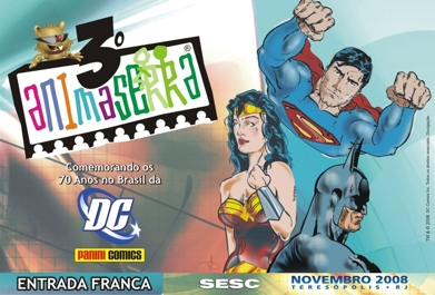 DC COMICS 70 ANOS - III ANIMASERRA