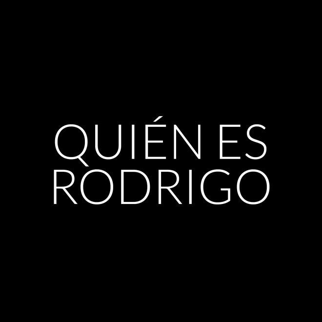¿Quién es Rodrigo?
