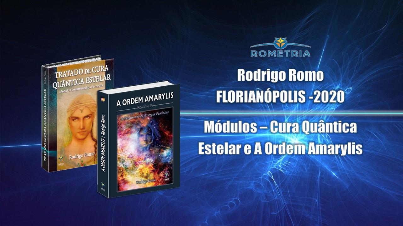 RODRIGO ROMO EM FLORIANÓPOLIS