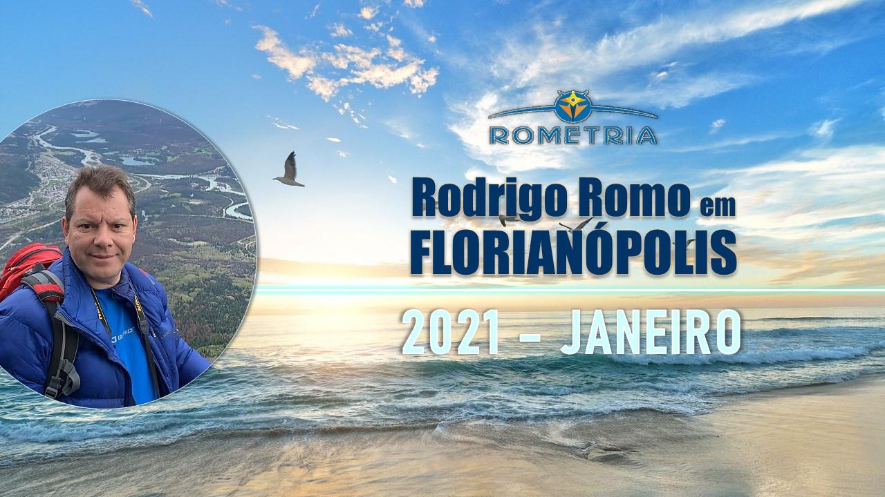 RODRIGO ROMO EM FLORIANÓPOLIS – 2021 – COMUNICADO