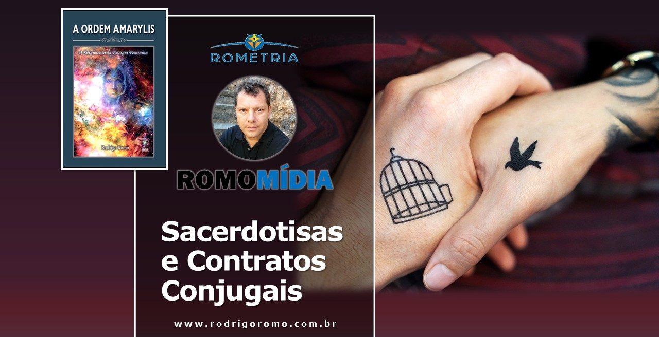 SACERDOTISAS E CONTRATOS CONJUGAIS – NOVO VÍDEO NA PLATAFORMA