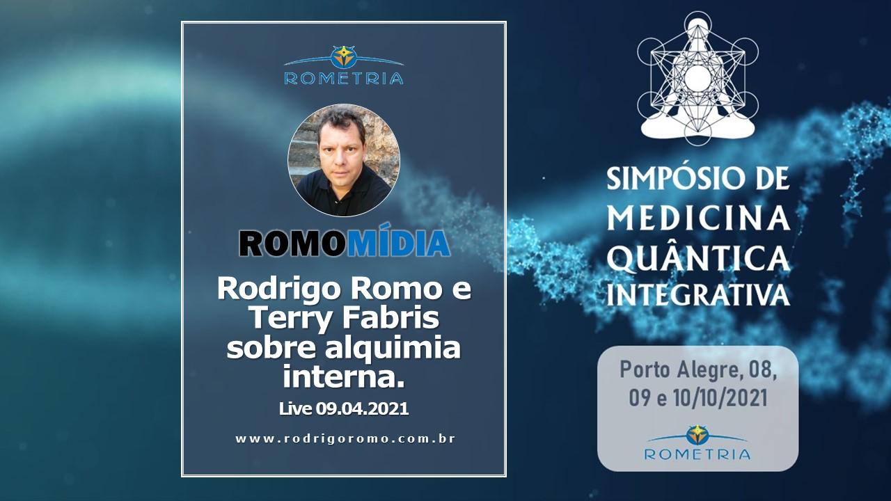 LIVE 09.04.2021 – RODRIGO ROMO E TERRY FABRIS