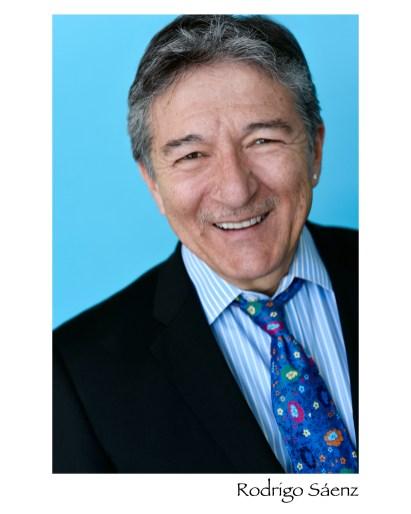 Rodrigo Sáenz Smile Blue Tie