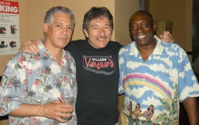 With Dave Spinozza and Ralph McDonald