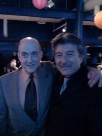 With Lew Soloff, trumpet player Blood, Sweat & Tears
