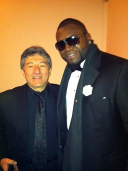 With Big Papi David Ortiz