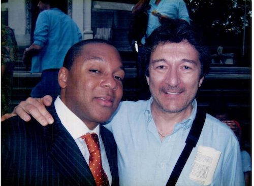 With Wynton Marsalis