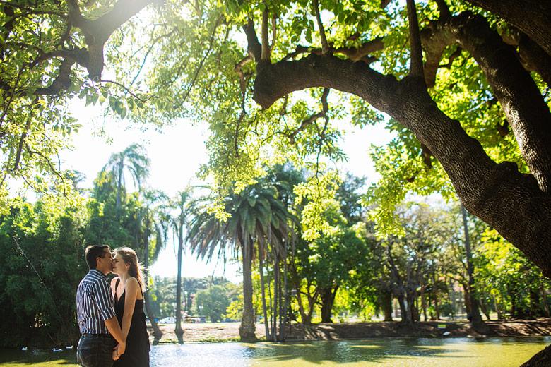 Fotos de novios en Palermo, Buenos Aires