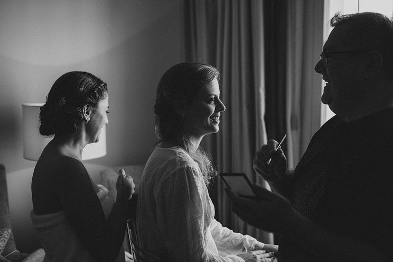 Fotografia artística de casamiento