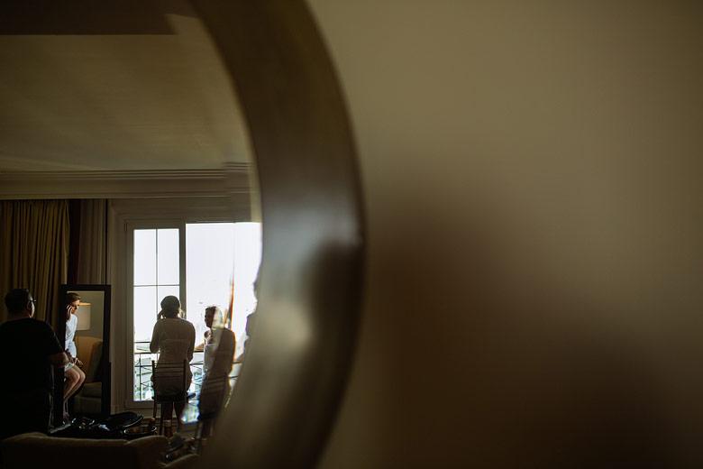 Previa de la novia en el Hotel Four Seasons Buenos Aires