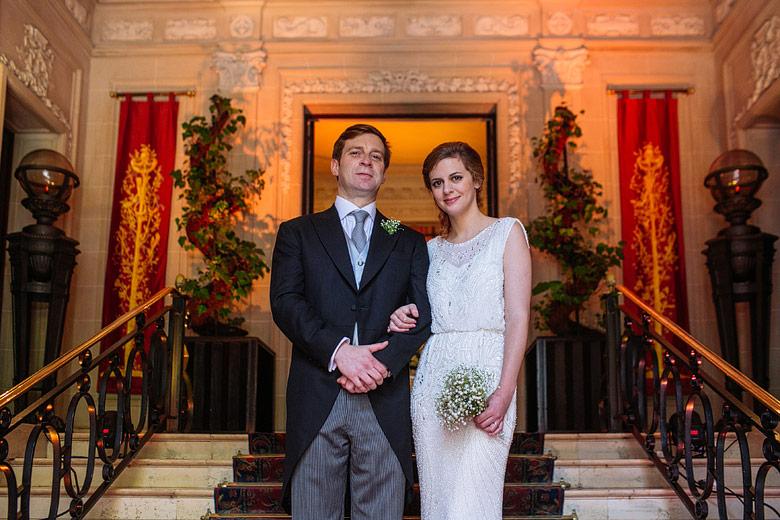 Retrato de casamiento en La Mansion del Four Seasons
