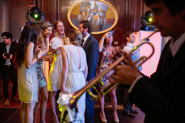 Wedding reception in La Mansion in Four Seasons Hotel Buenos Aires