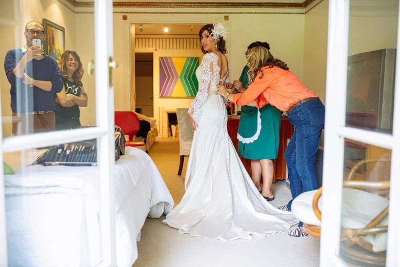 Vestido de novia by Tini Vidal
