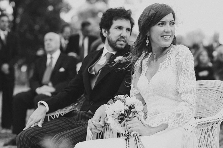 Fotos no posadas en casamiento