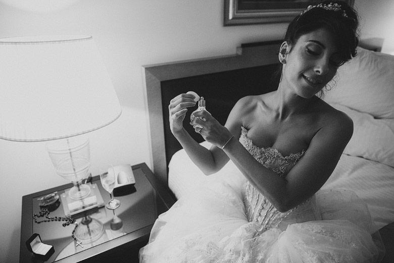 Fotografía artistica de boda