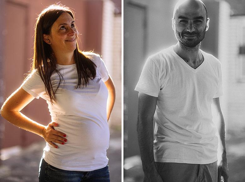 Fotógrafo sesion embarazada