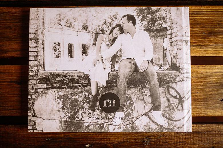 recuerdo de fotos impresas casamiento