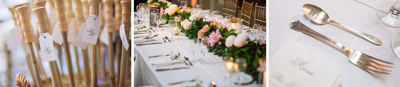 mesa principal en boda