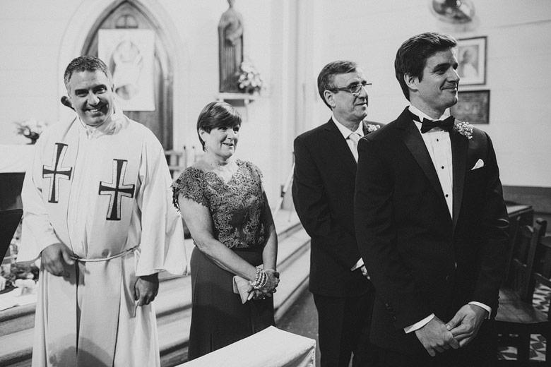 casamiento en iglesia colegio marin