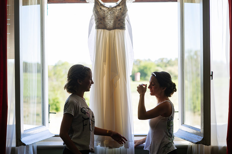 vestido de novia de Silvia Martinez