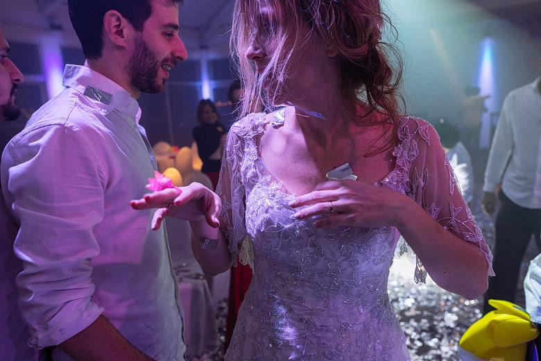 foto creativa de casamiento