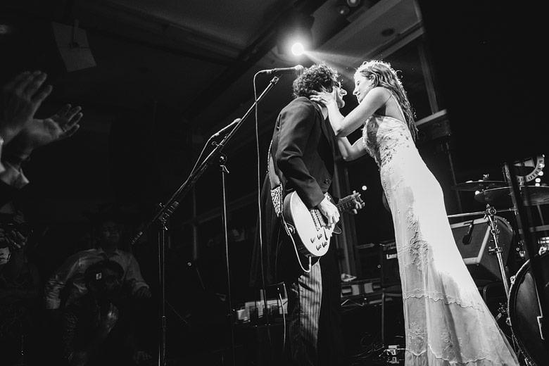 Casamiento rockero