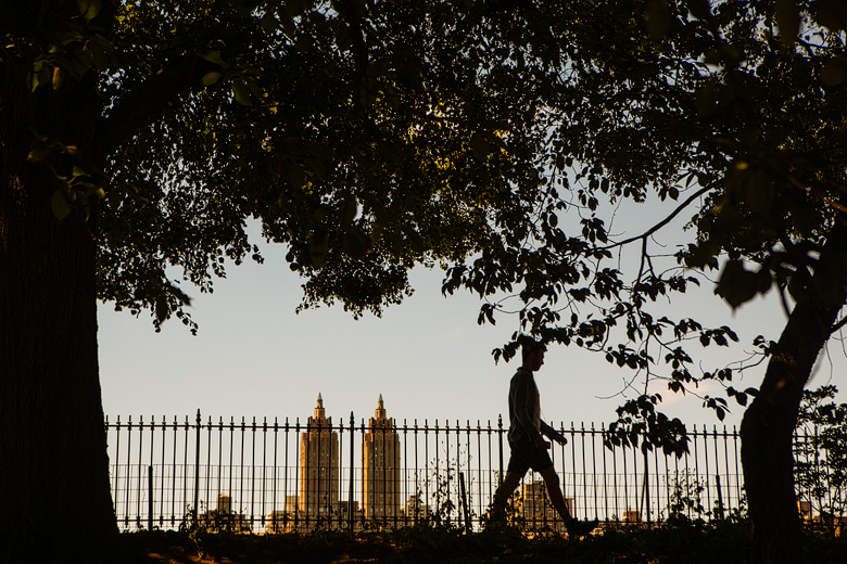 central park street photography