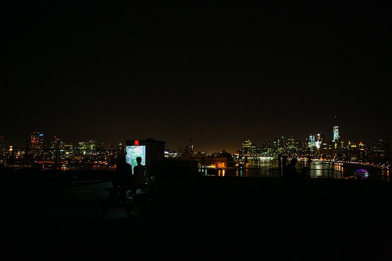 fotos nocturnas de terrazas en new york