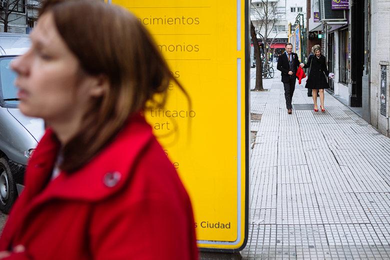 Boda por civil calle uruguay