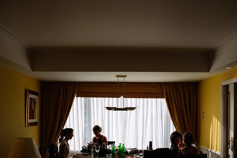 novia en hotel emperador