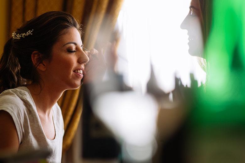 getting ready casamiento hotel emperador