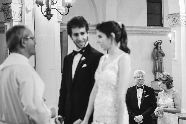 fotos documentales de casamiento por iglesia