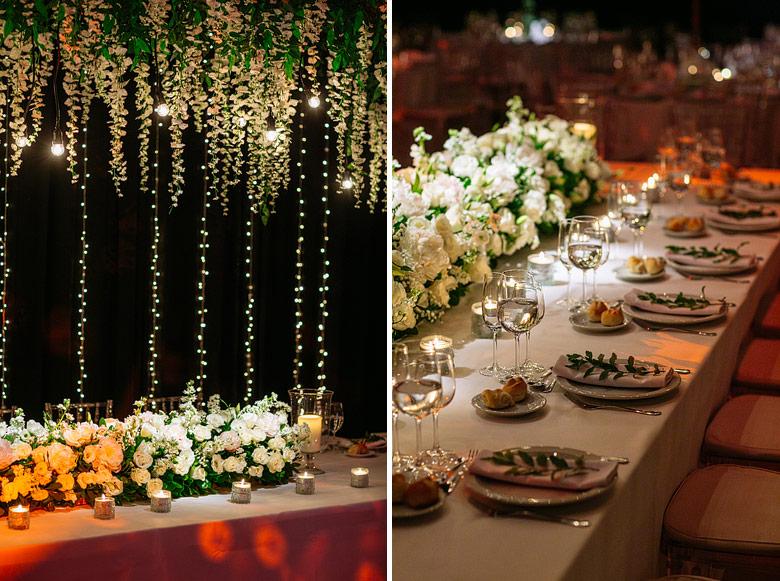 ambientacion de casamiento en espacio pilar por Mercedes Courreges
