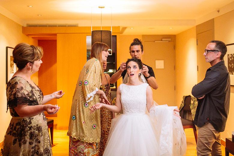 fotos descontracturadas de casamiento