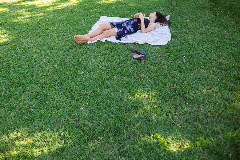 casamiento descontracturado al aire libre
