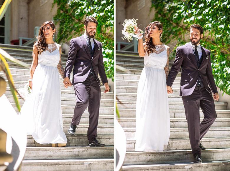 vestido de novia de Natacha Morales