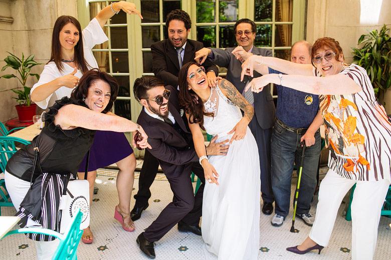 fotos divertidas en bodas