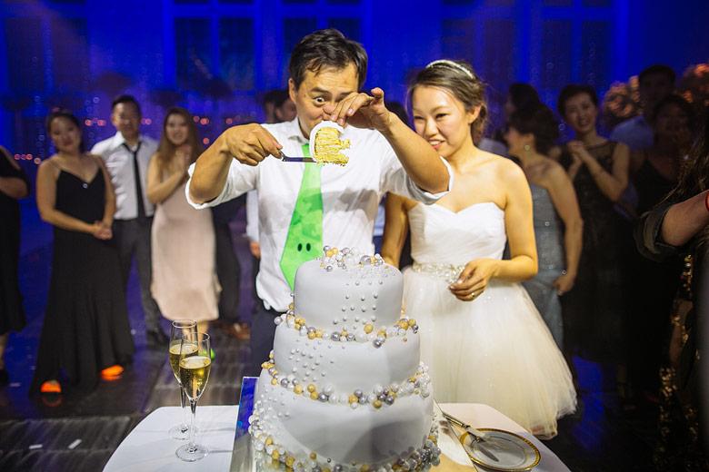 tortas de boda coreana
